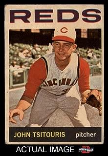 1964 Topps Venezuelan # 275 John Tsitouris Cincinnati Reds (Baseball Card) Dean's Cards 2 - GOOD Reds