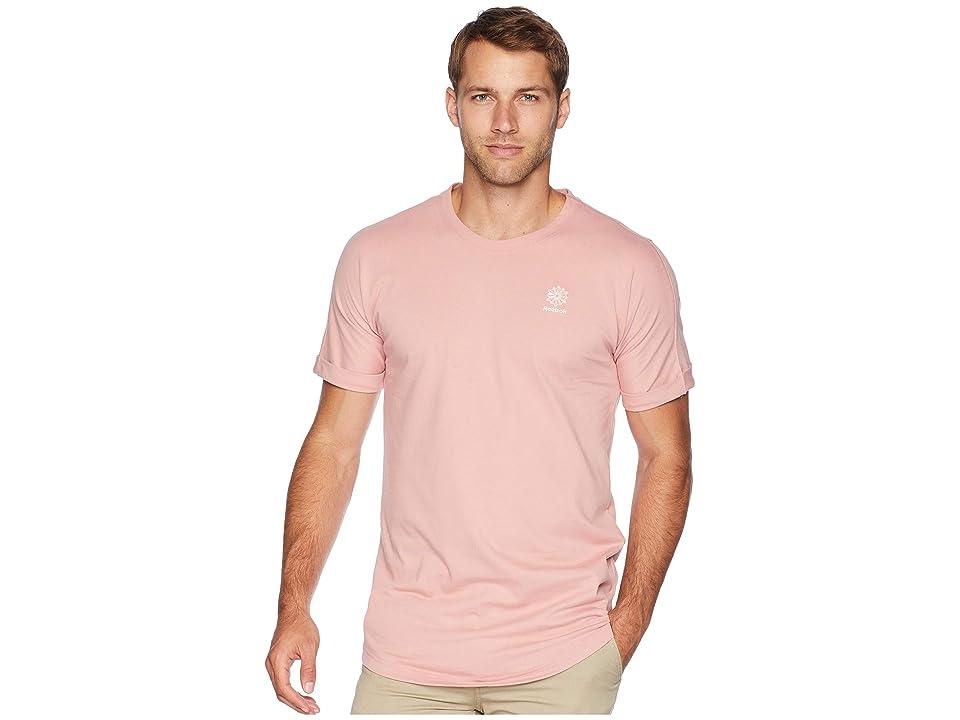 Reebok Classics Longer T-Shirt (Chalk Pink) Men
