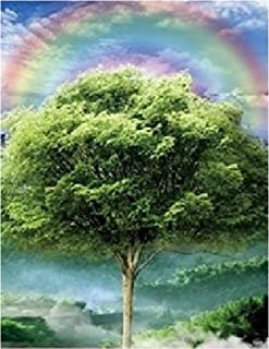 Four Seasons Tree 3D Poster Wall Art Decor Print | 11.8 x 15.7 | Lenticular Posters & Pictures | Memorabilia Gifts for Guys & Girls Bedroom | Happy Beautiful Nature Scene of Changing Spring Colors