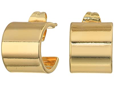 gorjana Jax Huggies Earrings (Gold) Earring