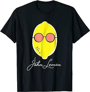 John Lemon Shirt Pun Funny Gift For Lime Lemon Fruit Fans