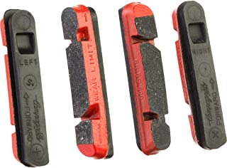 Campagnolo Carbon Brake Pad - 2-Pack Red, One Size