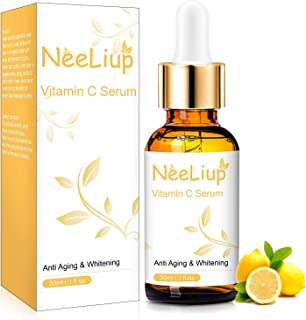 Vitamin C Serum for Face, Anti Aging Vitamin C Face Serum with Hyaluronic Acid and Vitamin E, Vitamin C Oil...