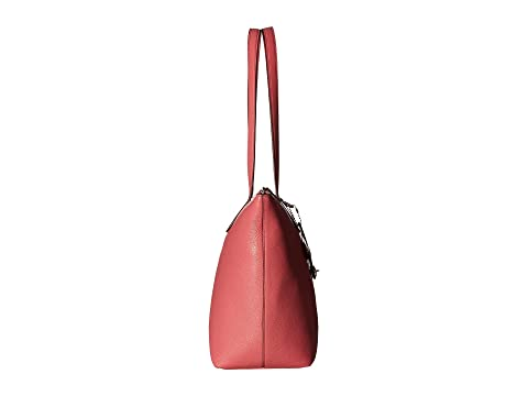 COACH Pebbled Taylor Tote SV/Peony Free Shipping Many Kinds Of Cheap Sale Online Discount Best Prices Looking For Sale Online Sale Shop For 688651tMX
