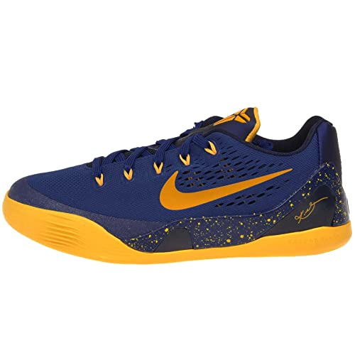 sale retailer 8a19b 80b4b Nike Kid s Kobe IX (GS), GYM BLUE UNIVERSITY GOLD-OBSIDIAN,