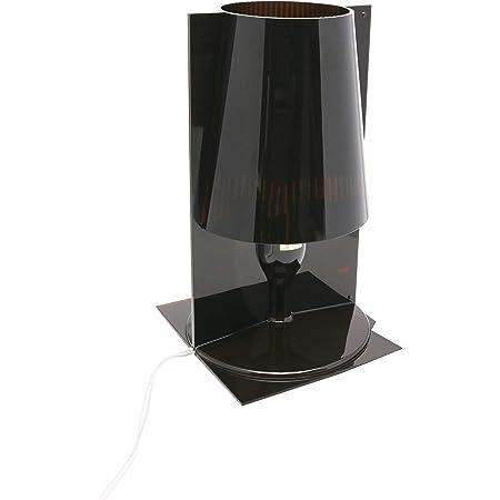 Kartell Take Lampada E14, 3.6 W, Fume, 18,5 X 17,5 cm H: 30 cm