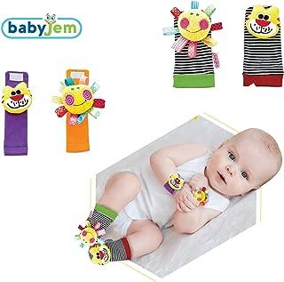 BabyJem 8681049214713 Çingirakli Patik Vebileklik, Çok Renkli