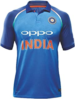 KD Team India ODI Cricket Supporter Oppo Jersey 2017 Kids to Adult