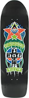 Dogtown Red Dog Triplane Pool Skateboard Deck -8.87x32.5 Black DECK ONLY (Bundled with FREE 1