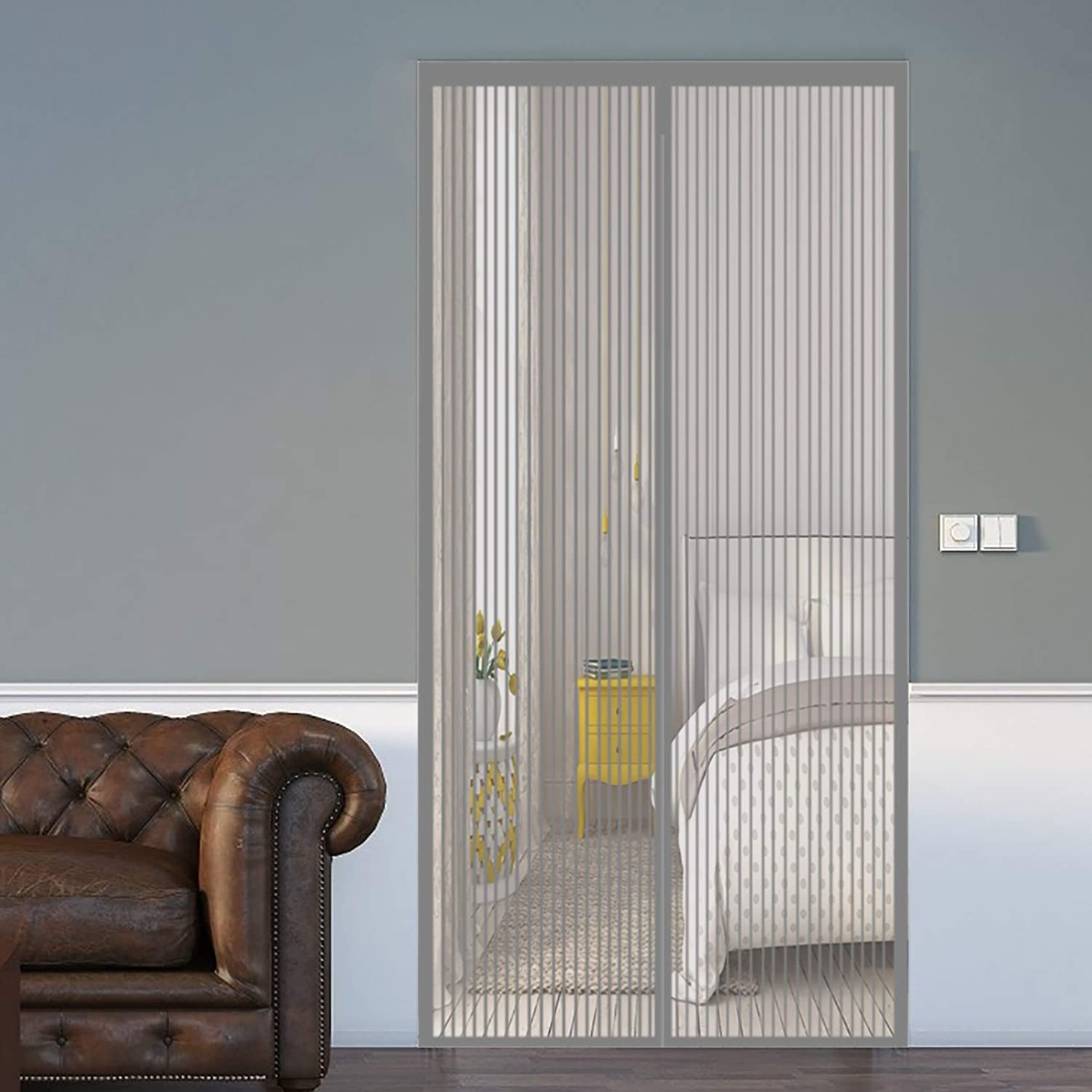 Limited Special Price COUEO Magnetic Fly Cheap super special price Insect Screen 170x260cm Mesh Duty Door Heavy
