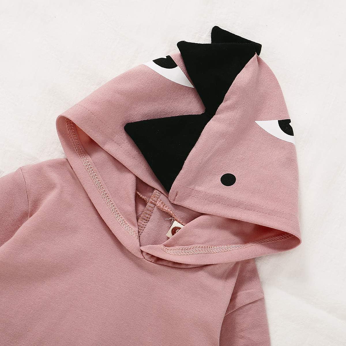 Unisex Baby Autumn Winter Halloween Hooded Sweatshirt Infant Boys Girls Hoodies with Kangaroo