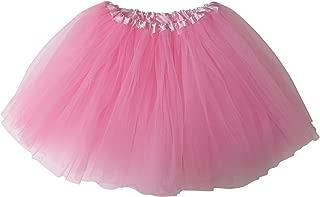 So Sydney Ballerina Basic Girls Ballet Dance Dress-Up Princess Fairy Costume Dance Recital Tutu (Pink)