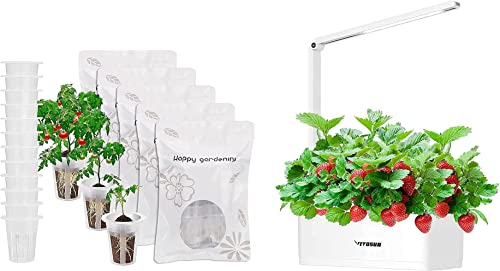 high quality VIVOSUN wholesale Hydroponics new arrival Growing System Smart and 60 Pieces Grow Basket Plant sale