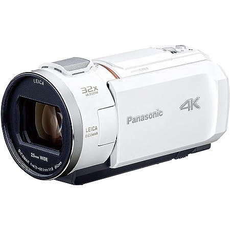 パナソニック 4K ビデオカメラ VX2M 64GB 光学24倍ズーム ピュアホワイト HC-VX2M-W