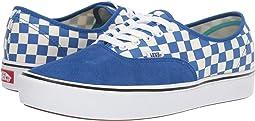 (Checker) Lapis Blue/True White