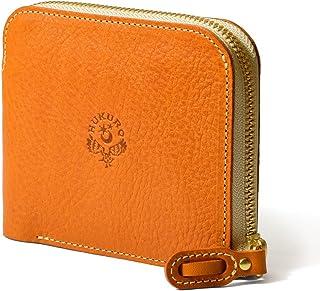 【HUKURO】大きく開く小さな財布 財布 二つ折り メンズ レディース 本革 革 レザー 栃木レザー 日本製