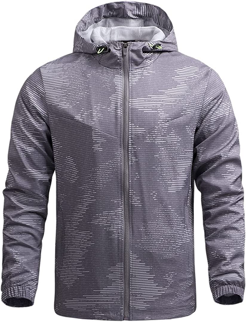 Xingge mart Men's Spring and Autumn Thin Quick-D Casual Discount is also underway Hiking Jacket