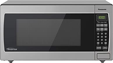 Panasonic Microwave Oven NN-SN766S Stainless Steel Countertop/Built-In with Inverter Technology and Genius Sensor, 1.6 Cub...