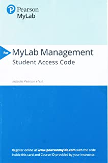 2019 Mylab Management with Pearson Etext -- Access Card-- For Strategic Management: A Competitive Advantage Approach. Conc...