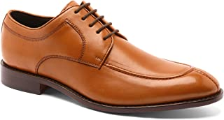 Anthony Veer Wallace Men's Oxford Lace-up Split-Toe Comfortable Leather Dress Shoe