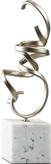 Ashley Furniture Signature Design - Pallaton Accent Sculpture - Contemporary - Champagne/White