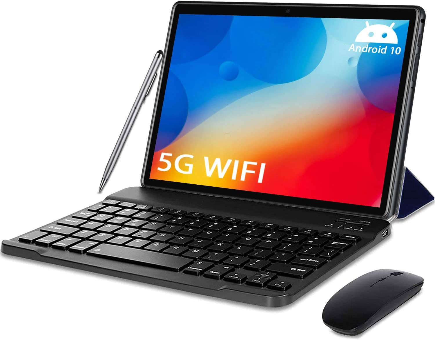 sale Trust 5G WiFi Android 10.0 Tablet Inch Keyboard in1 2 with Tablets