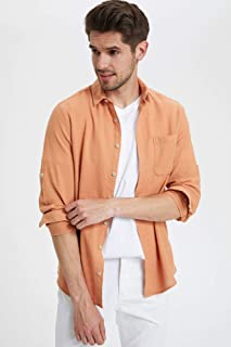 DeFacto Tek Cepli Slim Fit Gömlek