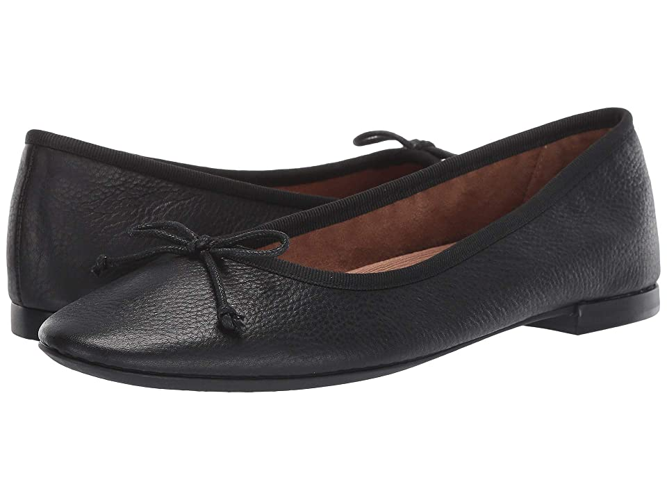 1950s Style Shoes | Heels, Flats, Saddle Shoes Aerosoles Martha Stewart Homerun Black Leather Womens  Shoes $85.00 AT vintagedancer.com
