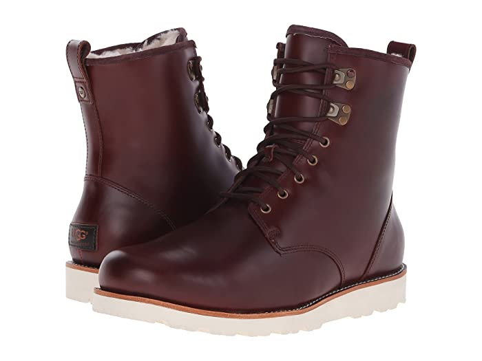 1950s Men's Shoes | Boots, Greaser, Rockabilly UGG Hannen TL Cordovan Leather Mens Lace-up Boots $148.97 AT vintagedancer.com