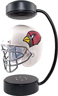 NFL Hover 头盔 - 收藏品悬浮足球头盔带电磁支架,亚利桑那红雀队 - 球队颜色