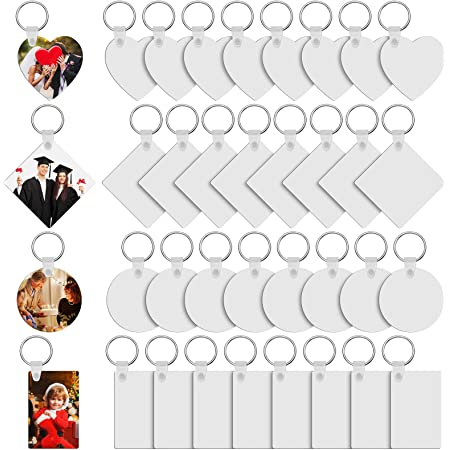 SET OF 10 Paw keychain sublimation blank sublimation blank paw print blank