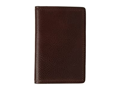 Bosca Dolce Collection Full Gusset Two-Pocket Card Case w/ I.D.