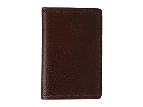 Bosca Dolce Collection - Full Gusset Two-Pocket Card Case w/ I.D. Dark Brown Clearance Online Sast For Sale Visit Online For Cheap Cheap Online a4Hvy
