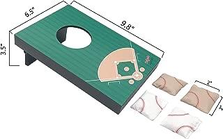 SPORT BEATS Mini Tabletop Cornhole Bag Toss Game