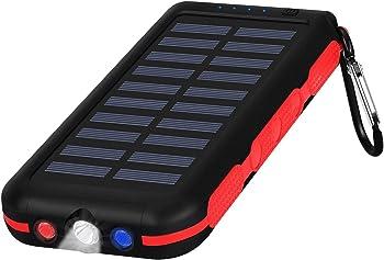 CXLiy Portable Waterproof Power Bank Solar