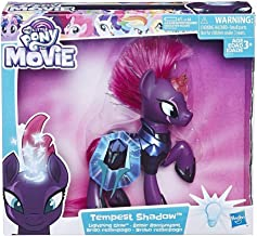 My Little Pony- The Movie Lightning Glow Tempest Shadow, Multicolor, 8,1 x 27,9 x 25,4 cm (Hasbro E2514EU4)