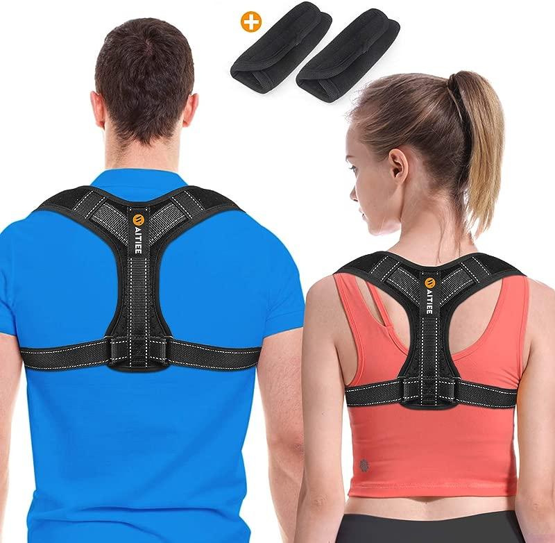 Back Posture Corrector For Men And Women Posture Brace Adjustable Back Straightener Effective Comfortable Adjustable Posture Correct Brace Posture Support Kyphosis Brace L