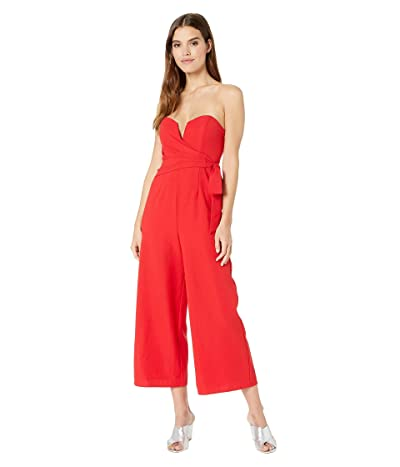 ASTR the Label Zion Jumpsuit (Fire Red) Women