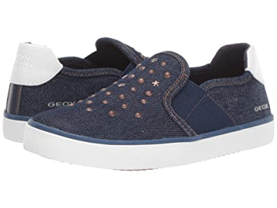 Geox Kids Kilwi Girl 51 (Little Kid) (Navy) Girl