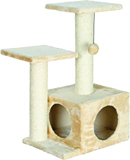 TRIXIE Pet Products Valencia Cat Tree, Beige
