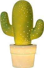 Lucide CACTUS - lampa stołowa - Ø 20 cm - 1xE14 - zielona