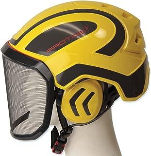 Pfanner Protos Helmet - Yellow/Grey