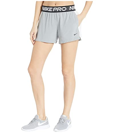 Nike Flex Shorts 4 Essential (Particle Grey/Pure/White/Black) Women