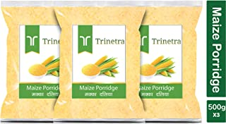 Trinetra Makka Daliya (Maize Porridge)-500gm (Pack of 3)