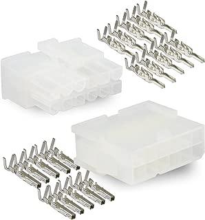 Molex, 12 Circuit Connector -2 Complete Set- Wire Conn. with Pins - Molex Mini-Fit Jr