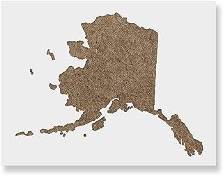 alaska state stencil