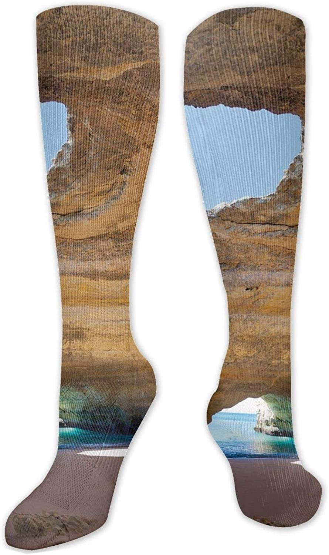 Compression Socks for Women Men National uniform free shipping Selling Benagi Circulation Sea of Cave
