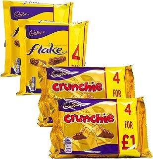 LIMITED EDITION - Cadbury Variety Selection | 8 Bars of Cadbury Flake & 8 Bars of Cadbury Crunchie