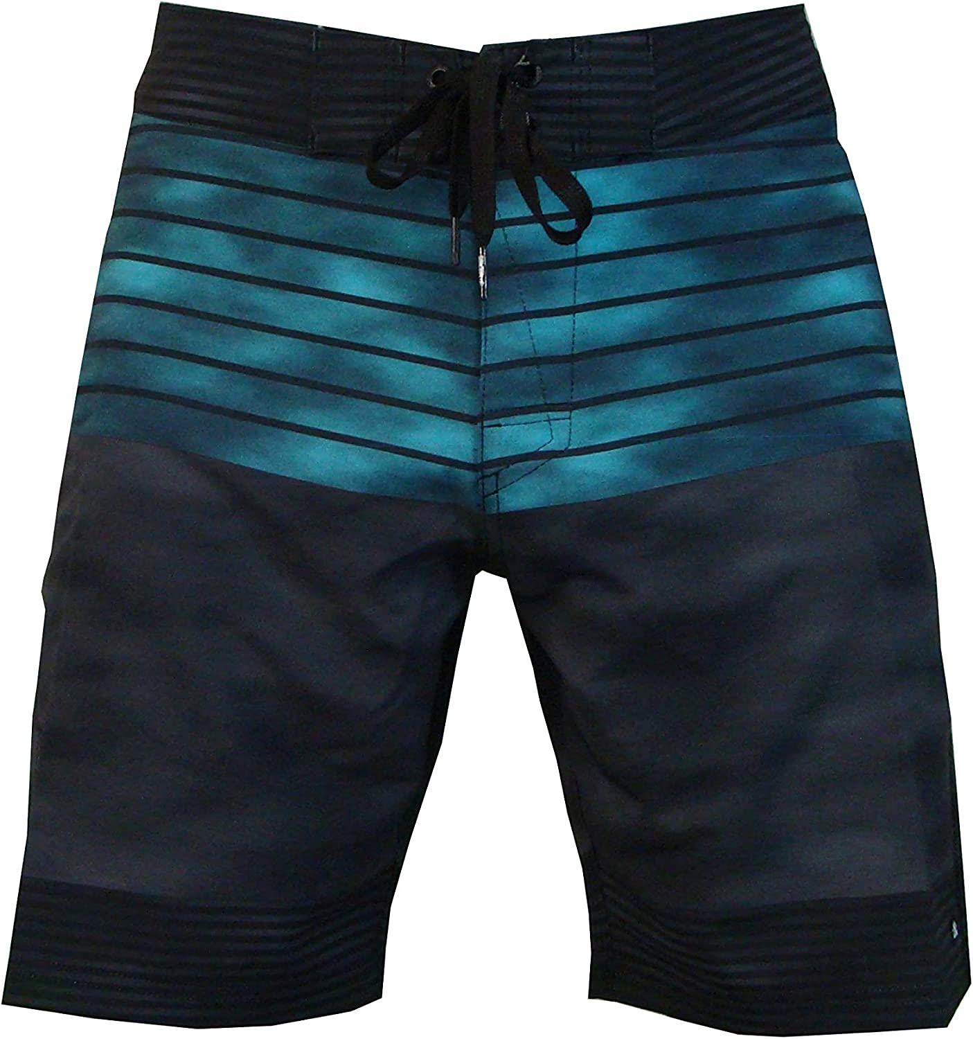Micros Ares Tie Dye 4 Way Stretch Boardshorts with Comfort Fly for Men