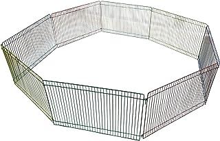 ルナリ ゲージ ペットサークル 組立式 プレイサークル ソファーの下ガード 折り畳み式